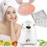 GFS Facial Mask Maker Machine Kit WITH 32 Counts COLLAGEN PILLS, Fruit...