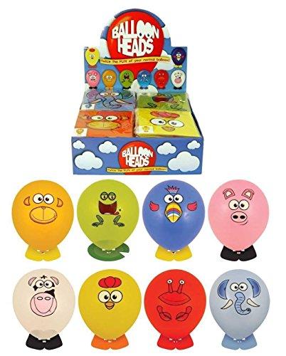 party Ballons Ballon tiere lustiges gesicht köpfe mit aufkleber und Tiere Fuß partytüte füller packung zu 8