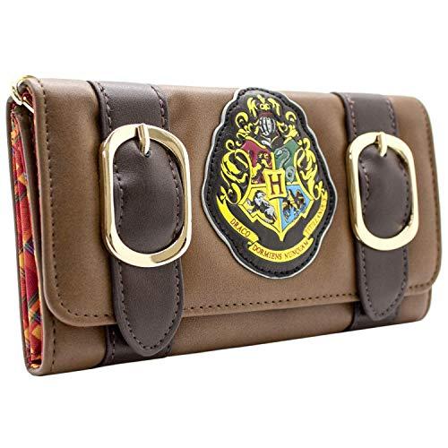 Cartera de Warner Harry Potter Hogwarts Alumni marrón