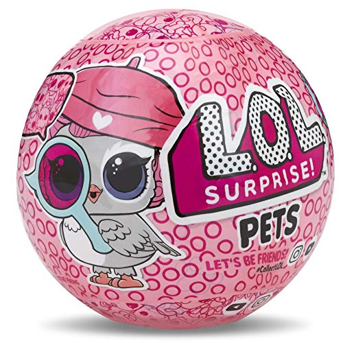 Giochi Preziosi LOL Surprise Fuzzy Pets Cuccioli Makeover 7 Livelli di Sorprese