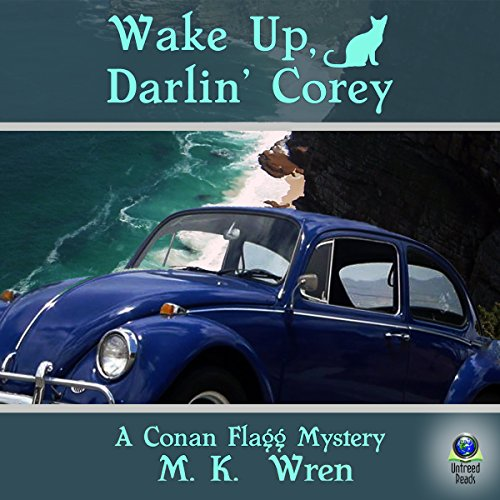 Wake Up, Darlin' Corey audiobook cover art