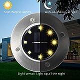 Immagine 1 bozhzo luci solari giardino lampade