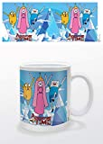 Adventure Time Pyramid International Princess - Taza de Desayuno con diseo de Jake y Finn (Capacidad 284 ml) - Taza Hora de Aventuras Princesa & Jake & Finn