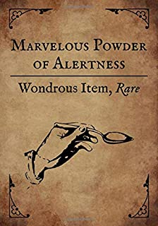 RPG hex paper: Gaming notepad: Blank hexed notebook for role playing gamers: Wondrous Item: Marvelous Powder of Alertness