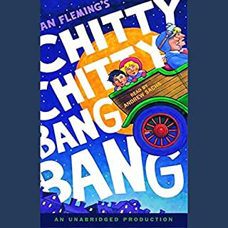 Chitty Chitty Bang Bang audiobook cover art