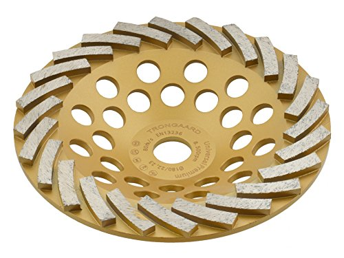 TRONGAARD PREMIUM Diamant Schleifteller/Schleiftopf 180mm / 22,23mm / 30mm 7