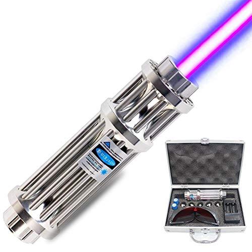 Azul linterna módulo de iluminación 16340 batería caja de cargador de una sola fila 1200mW Litwod