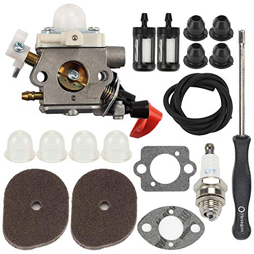 Panari C1M-S267A Carburetor with Adjustment Tool Kit for Stihl FS40 FS50 FS56 FS70 FC56 FC70 HT56 KN56 KM56 Trimmer