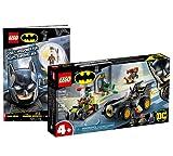 Lego 76180 Batman vs. Joker: caza de persecución en Batmobil + misiones geniales de Batman para verdaderos superhéroes (cubierta blanda)