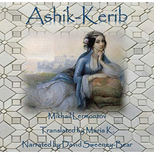 Ashik-Kerib audiobook cover art