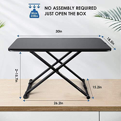 SIMBR Standing Desk Converter
