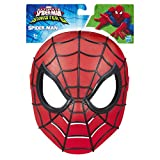 Marvel 024727 Hasbro Ultimate Spiderman Vs Sinister 6 Role Play Mask-Iron Spider (B6680), rot