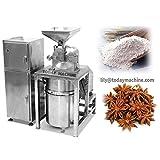 Máquina de molienda de polvo de chile de escritorio industrial de especias amoladora de granos de la máquina de molienda