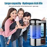 TOPQSC Taza de Agua enriquecida con hidrógeno Gran Capacidad 2L Taza de la Salud hidrógeno...