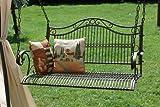 dandibo banc suspendu 82505 balançoire avec chaines balançoire banc balancelle jardin