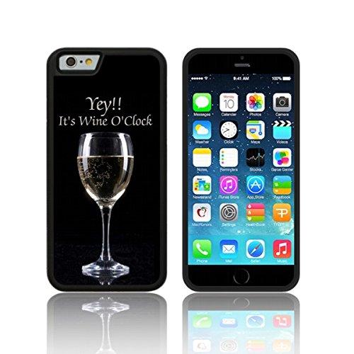 Biz-E-Bee Exklusiv 'Wein O 'Clock' (ip6h), TPU-Gel für Apple iPhone 6/6SCASE Hautschutz