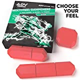 ADV Tennis Vibration Dampener | Set of 3 | Ultimate Shock Absorbers for Racket and Strings | Premium Quality,...