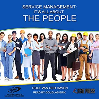 Service Management: It's All About the People audiobook cover art