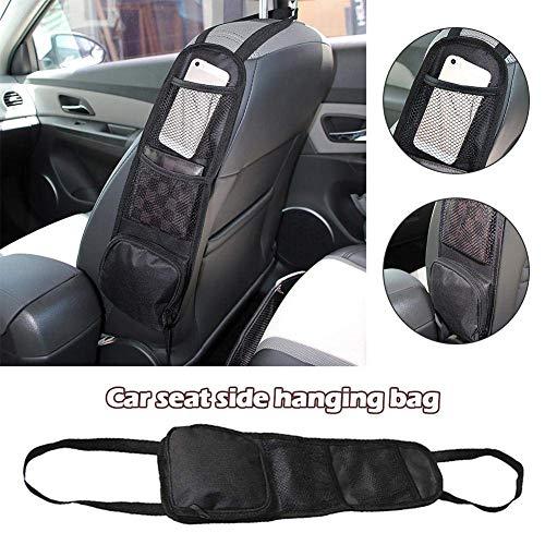 Yunhigh Autositz-Organizer Seitentasche für vordere PKW-Sitze Aufbewahrungstasche aufgeräumt für Auto LKW Mini Van SUV
