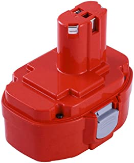 3000mAh Ni-Mh Replace for Makita 18V Battery Compatible with Makita 1822 1823 1834 1835 192826-5 192827-3 193102-0 193061-8 193140-2 192828-1 Cordless Power Tools of 1 Pack
