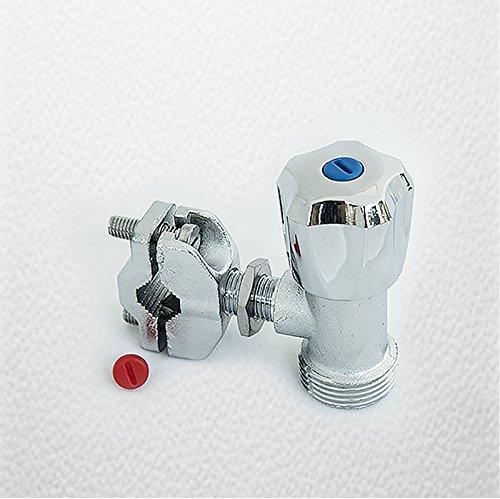 First4spares Robinet Robinet Coupe-matière Universel pour Tout Tuyau approvisionnement d'eau extérieur/Jardin (15 mm)
