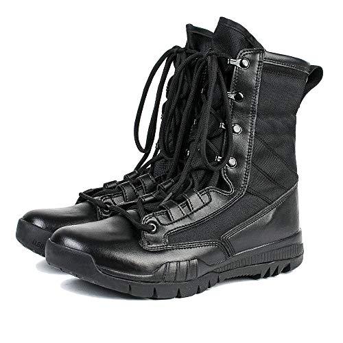 NDHSH Botas Militares Hombre Zapatos Cordones Botas