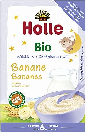 Holle Bio Bio-Milchbrei Banane Guten Abend (6 x 250 gr)