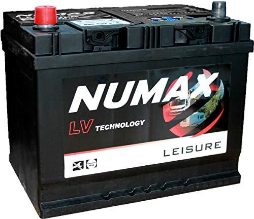 Leisure Battery 12v 75Ah Numax LV22MF
