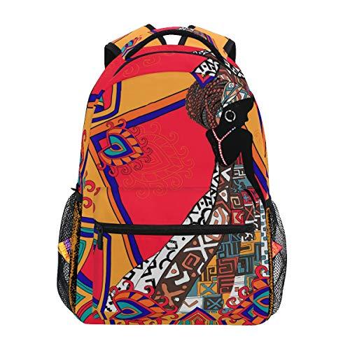 Zaino della scuola delle donne dell'Africa etnica per la borsa di viaggio dei bambini delle ragazze dei ragazzi
