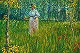hansepuzzle 21444 Naturaleza - Mujer en Prado, 2000 Piezas en Caja de cartón, Piezas de Rompecabezas en Bolsa resellable