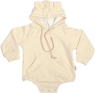 Carlos Foushee Toddler Baby Boy Girl Winter Christmas Outwear Hood Fleece Romper Jumpsuit