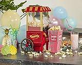 United Entertainment-Macchina per Popcorn, in plastica, Colore: Rosso