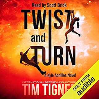 Twist and Turn audiobook cover art