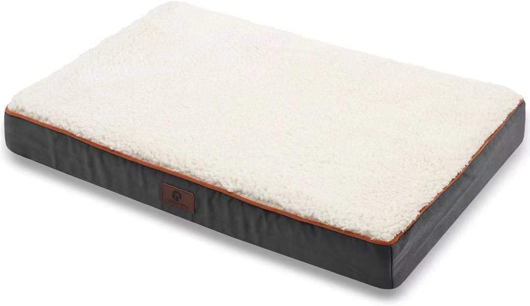 Outlet SALE Asvin Memory Foam Orthopedic Extra Large Tulsa Mall 4 2 Dog Inches Bed Lay