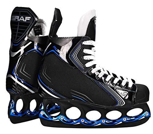 Graf tblade Schlittschuhe Pk150 Eishockey und Freestyle t Blade Schlittschuhe Eislaufen (38)