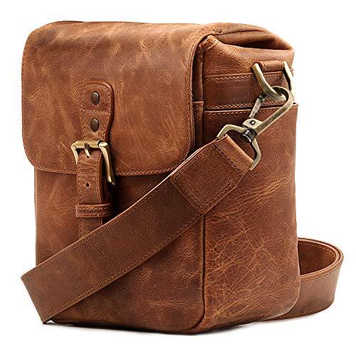 MegaGear Torres Mini Genuine Leather Camera Messenger Bag