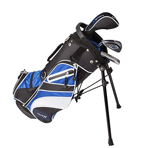 Tour X Size 0 3pc Jr Golf Set w/Stand Bag