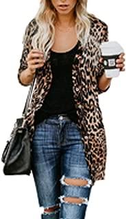 Best plus size leopard cardigan Reviews
