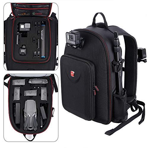 Smatree Backpack Compatible with DJI Mavic 2 Pro/Zoom /GoPro Hero 2018/ Hero 9/8/7/6/5/4/3 Plus/3