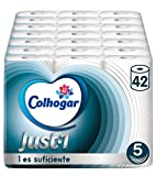Colhogar Papel Higiénico Just 1 5 capas - 42 Rollos