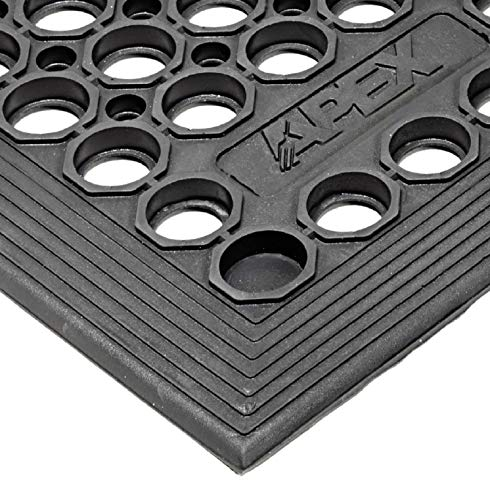 Notrax T30S0035BL T30 Competitor Workstation Mat, for Home or Business, 3' x 5', Black