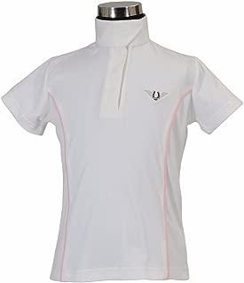 TuffRider Girl's Kirby Kwik Dry Short Sleeve Show Shirt