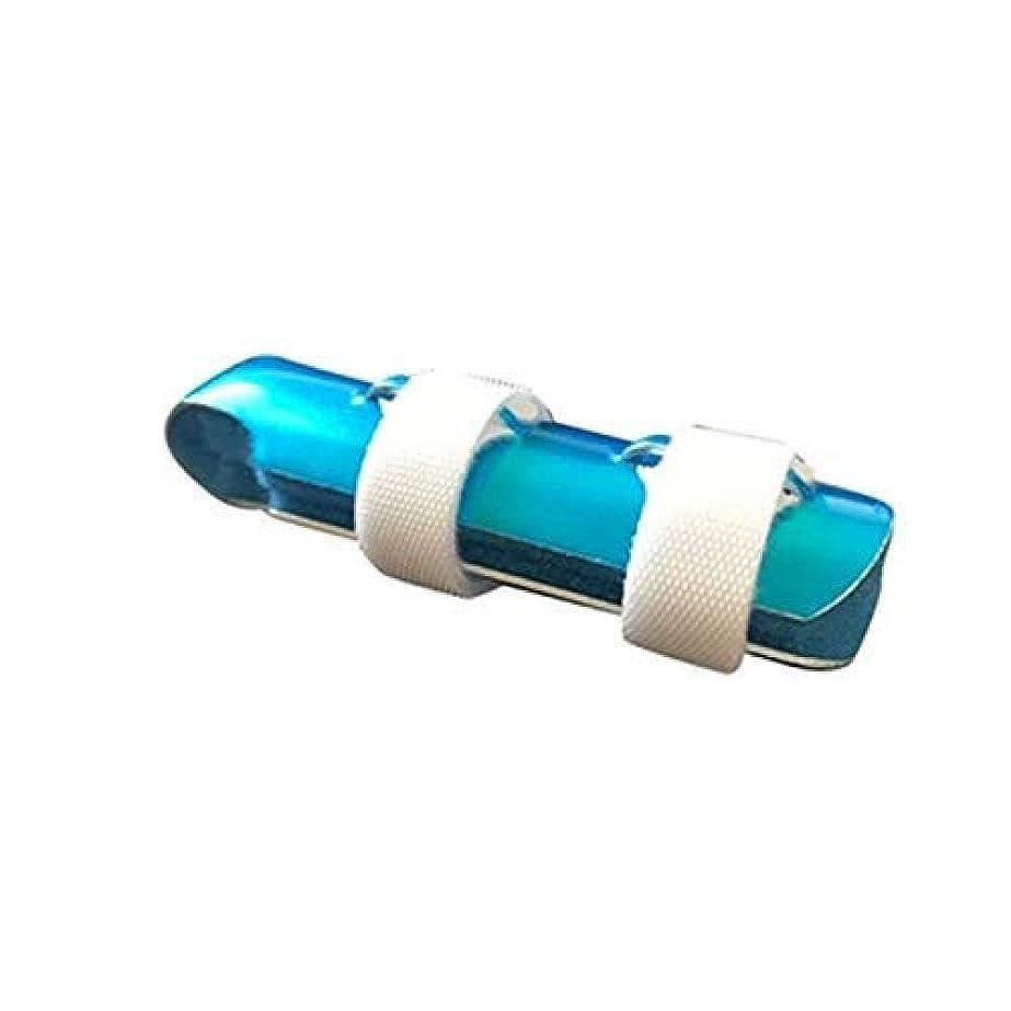 フライト予算プライバシートリガーフィンガースプリント、関節炎男性女性プロの指のトレーニングのためのアルミニウム指プロテクター,5cm
