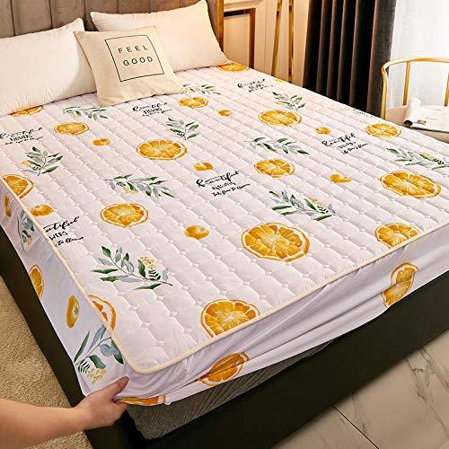 XGguo Sábana Ajustable súper Suave, cálida y acogedora Una Sola Pieza de sábana Impermeable y a Prueba de Polvo-2_150cmx200cm