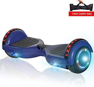 NHT Electric Smart Self Balancing Scooter Hoverboard LED Wheels Side Lights- UL2272 Certified