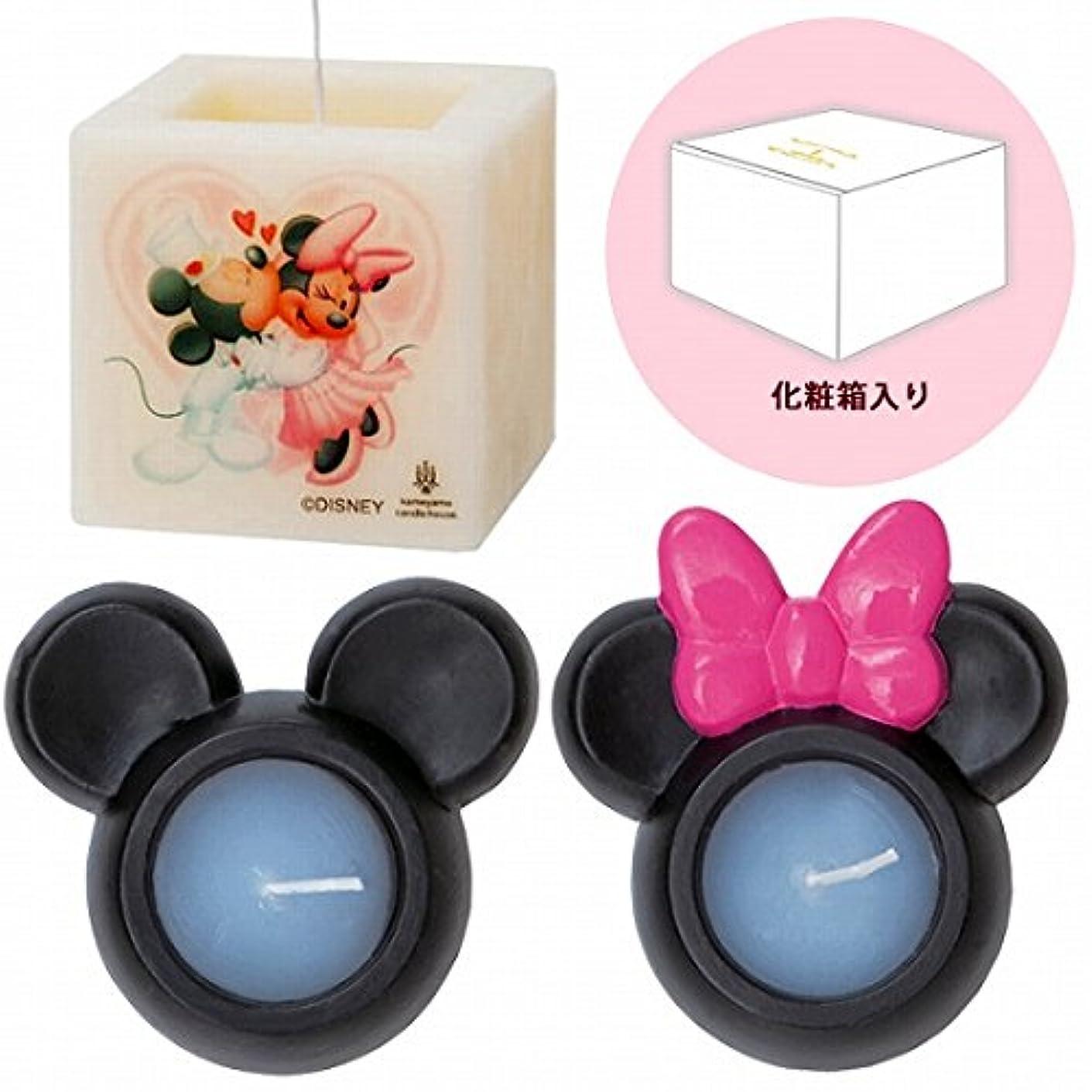 思春期どこサンダーカメヤマキャンドル( kameyama candle ) ミッキー&ミニーキャンドルセットM
