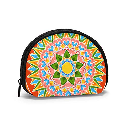 Costa Rica Decorated Coffee The Arts Women Girls Shell Cosmetic Make Up Storage Bag Outdoor Shopping Coins Wallet Organizer