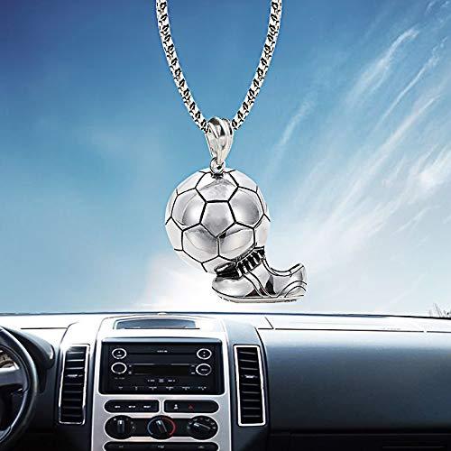 ZUEN Auto Anhänger Männer Sport Fußball Schuhe Schmuck Auto Rückspiegel Dekoration Zubehör Auto Hängen Ornamente Geschenke
