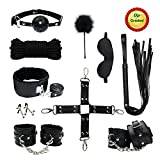 Kit de Bondage au Lit Retenue Collier SM...