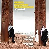 Sonatas: Enescu Prokofiev Shostakovich by Laura Buruiana